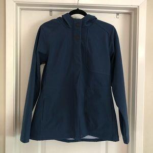 Lucy Blue Water Resistant Zip Jacket